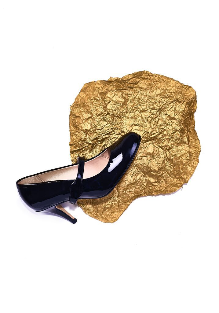 Gold Luxury Court Shoes Shoes By Shaherazad Designer Heels