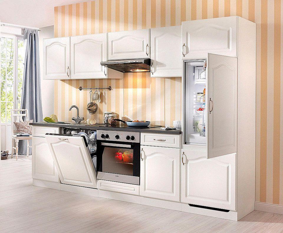 Wiho Küchen Küchenzeile mit E-Geräten »Lausanne«, Breite 280 cm - küchenblock ohne e geräte