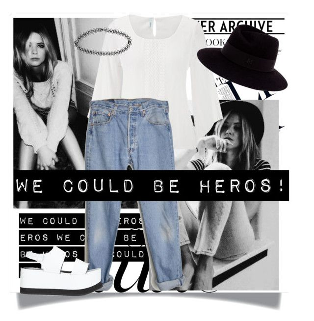 """""""We could be heros!"""" by a-highschool-student ❤ liked on Polyvore"""