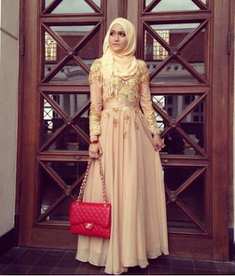 Model Kebaya Muslim Terbaru Hijaab Wedding Gowns Hijab Fashion