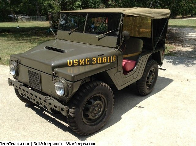USMC Jeep Mighty Mite - SOLD | Military Jeeps For Sale ...