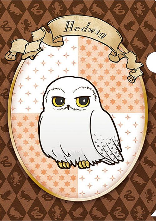 Official Anime Style Harry Potter Merchandise Hedwig