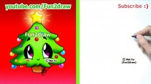 Easy Drawings How To Draw Christmas Tree Cute Christmas Tree Drawing Simple Christmas Easy Drawings