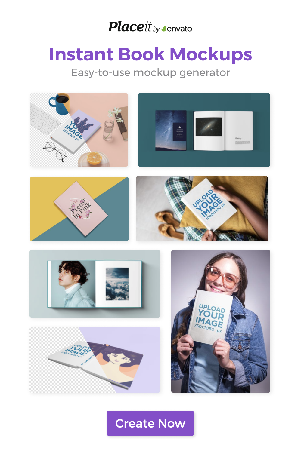 Find the Best Book Mockups with Placeit! Create Now! in