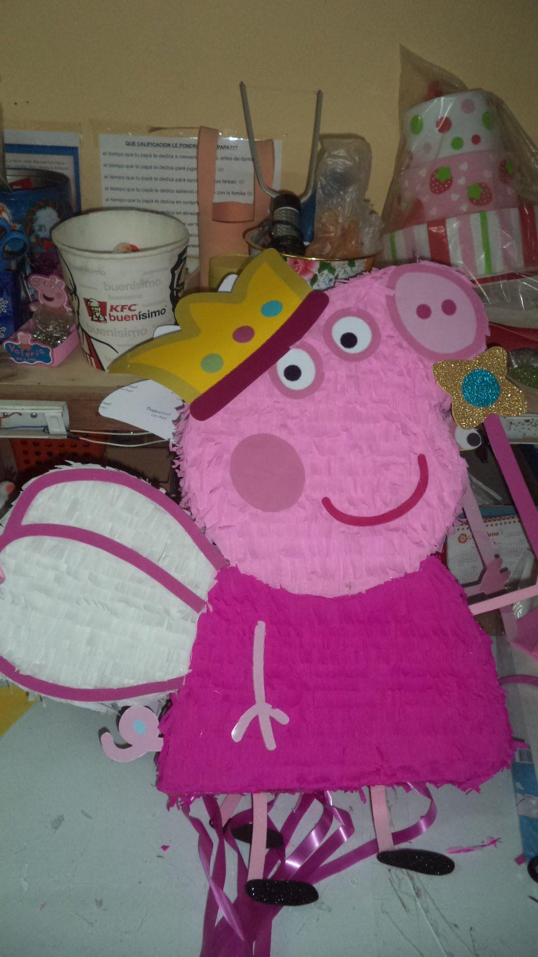 c47e52407c58 Como Hacer Piñata Peppa Pig DIY - how to make a pinata | candy2 ...