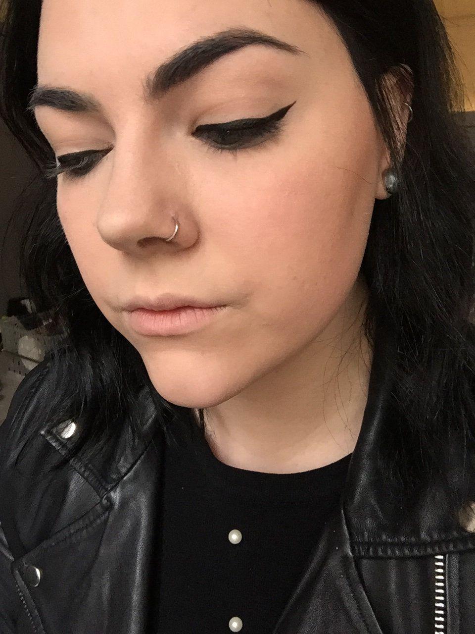 I did my makeup according to Lauren Conrad's beauty book