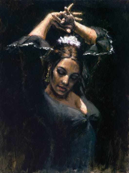Watercolor Dancer