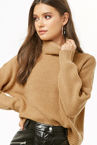 Ribbed Turtleneck Sweater | Forever 21 | Ribbed turtleneck