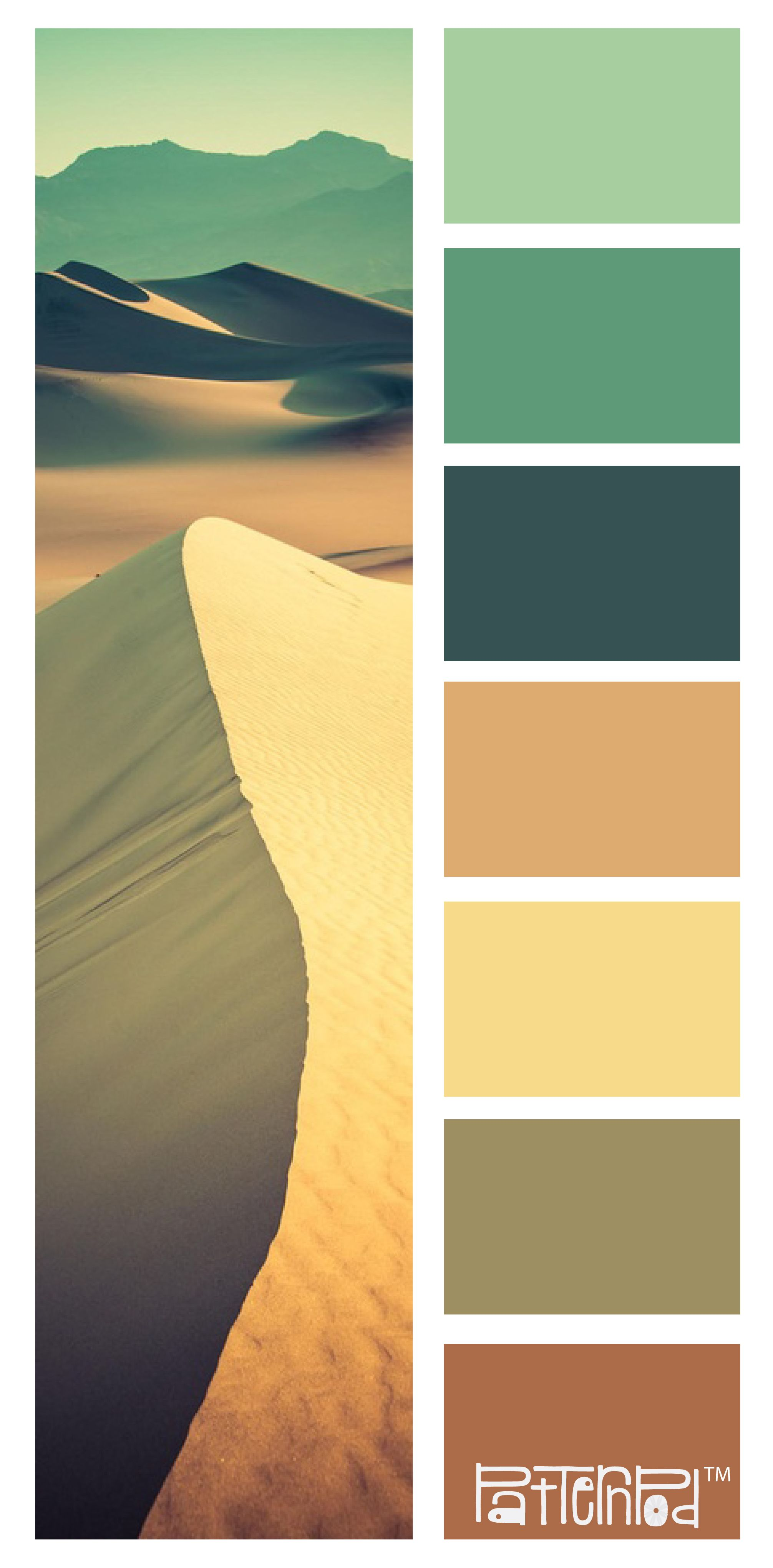 patternpod #patternpodcolor #color #desert This is our 100th color ...