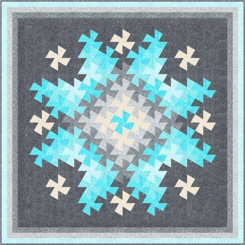 Twister Sparkler Designer Pattern Robert Kaufman Fabric