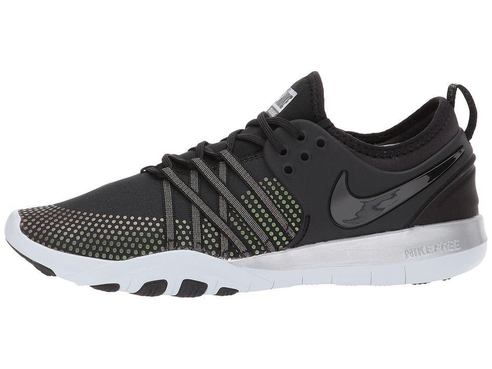 Nike Free Tr 7 Metallic Women S Shoes Black Black Pure Platinum Fashion Boots Fashion Shoes Nike Free