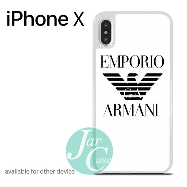 quite nice 83798 a3bfc emporio armani Phone case for iPhone X | iPhone X