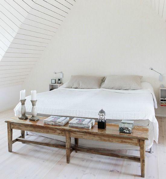 slaapkamer-bankje-achter-bed - Slaapkamer | Pinterest - Slaapkamer ...