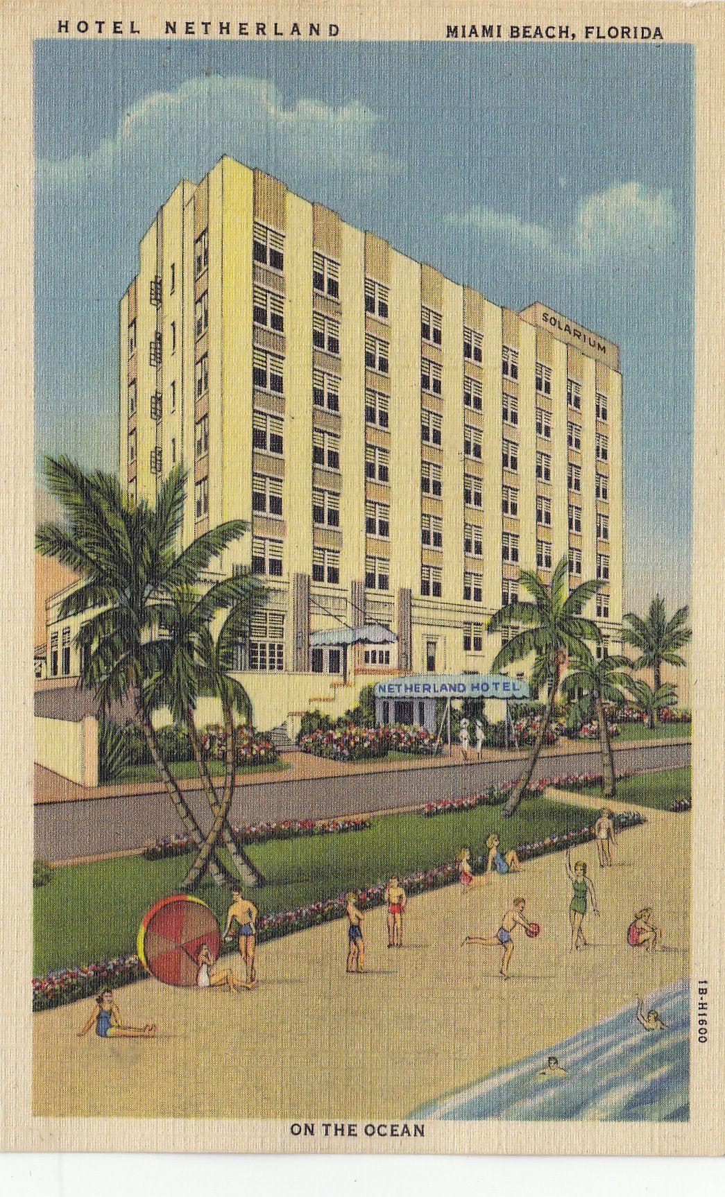 Netherlands Hotel Miami Beach Fl