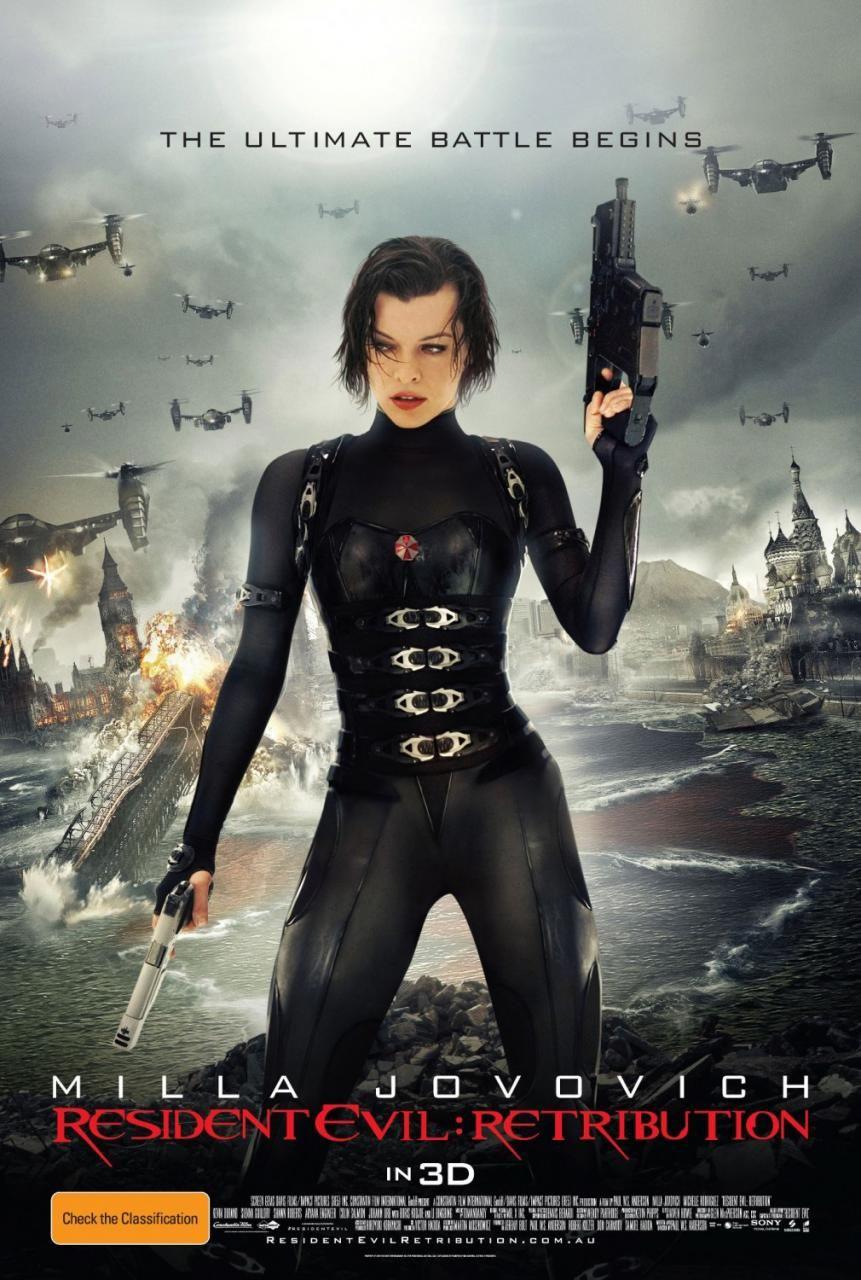 Resident Evil Retribution Milla Jovovich Resident Evil Resident Evil 5