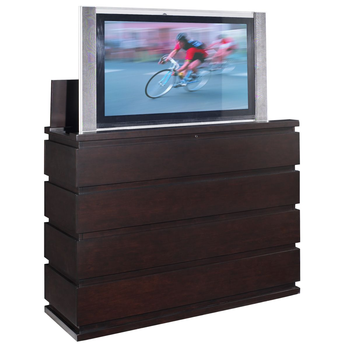 prism tv lift cabinet foot of the bed tv lift cabinet pinterest