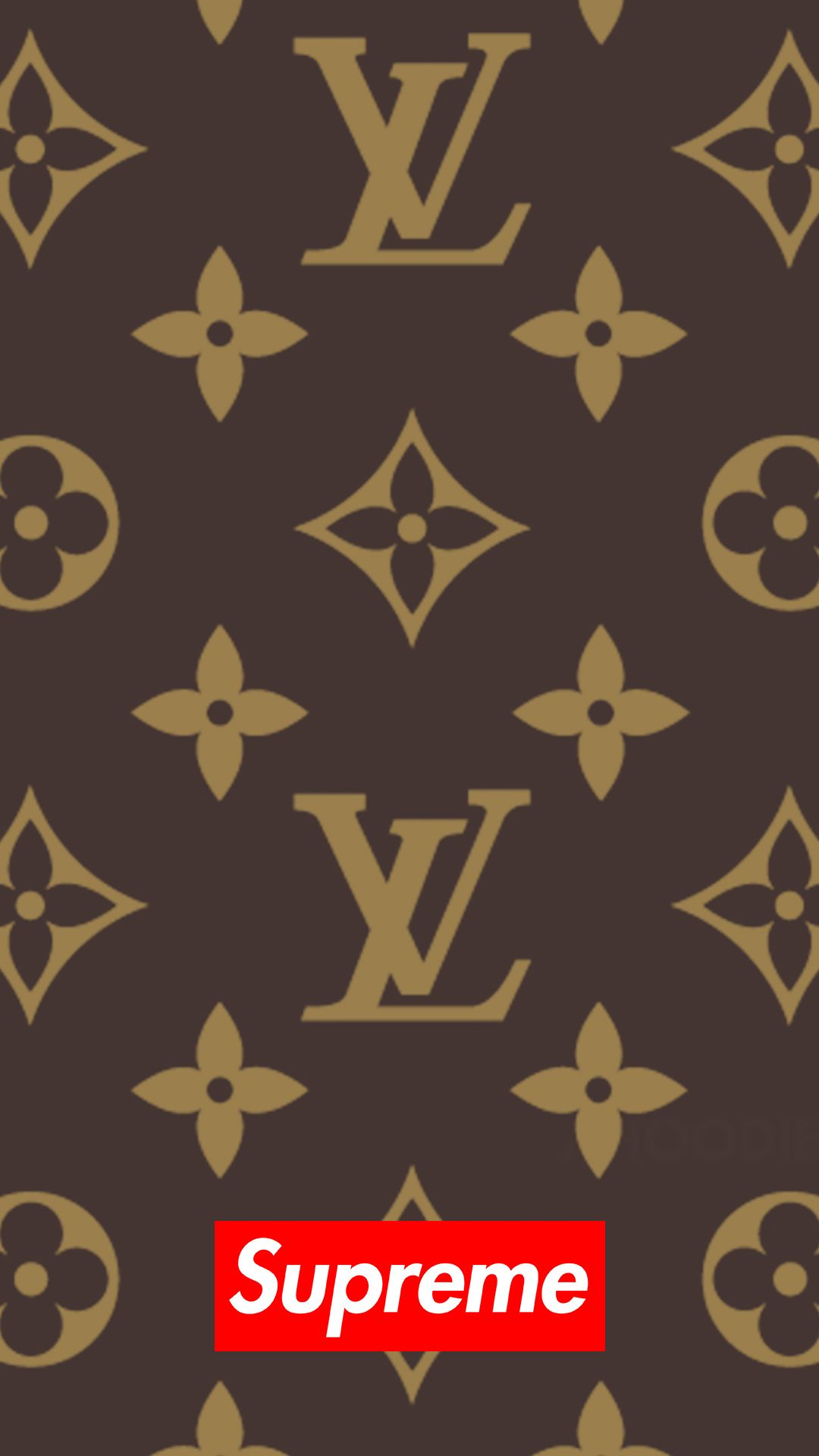 Lv Supreme Yellow Wallpaper Yellow Aesthetic Photo Wall Collage