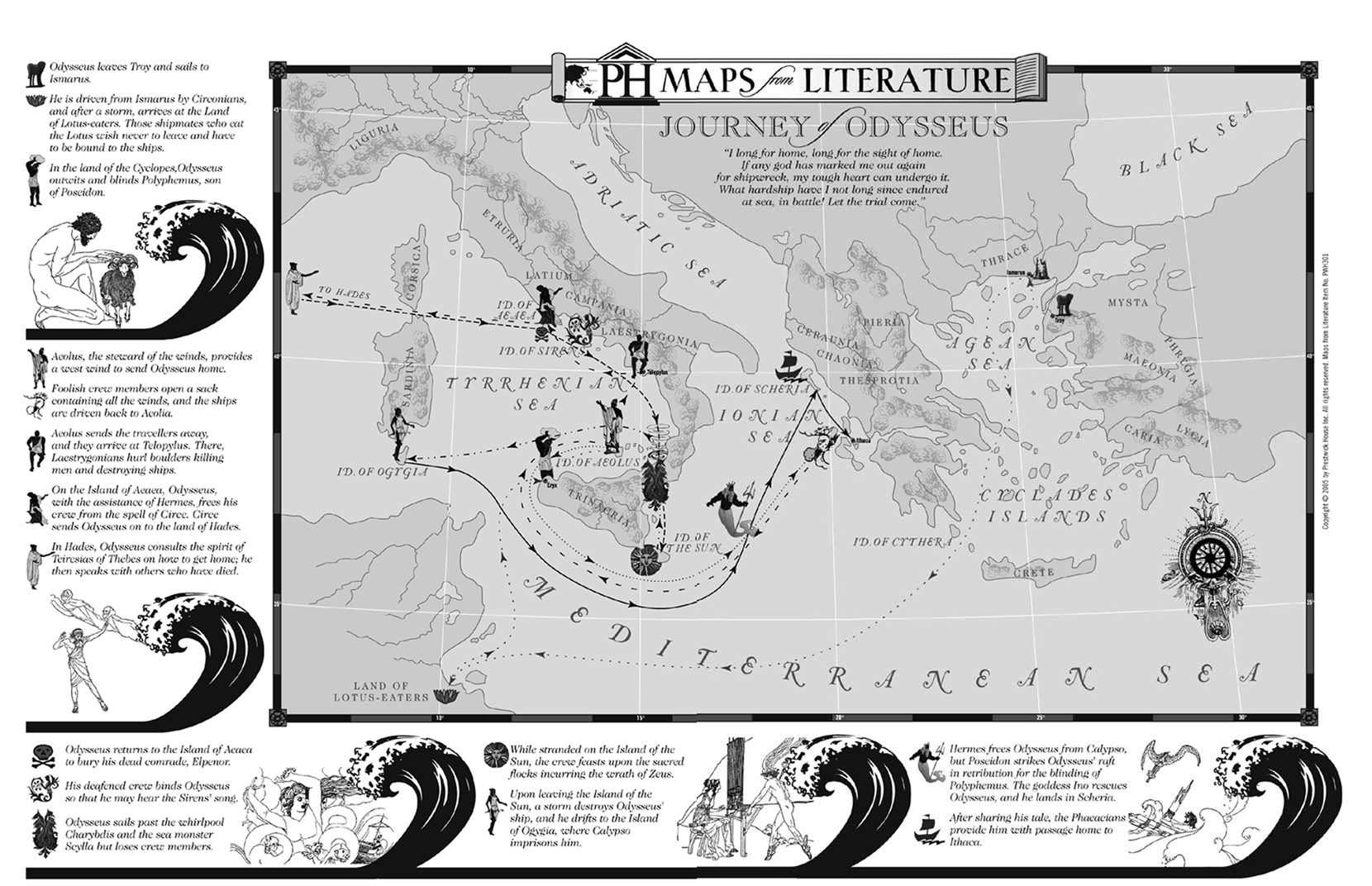 The Odyssey Journey in the World of Homer by =trivto on deviantART ...