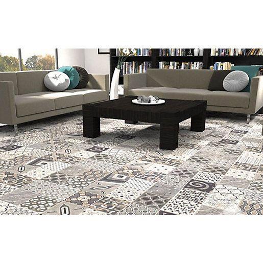 Wickes Nostalgic Collection Europe Patchwork Mix Wall Floor Tile 180 X 180mm Patchwork Tiles Ceramic Floor Tile Tile Inspiration