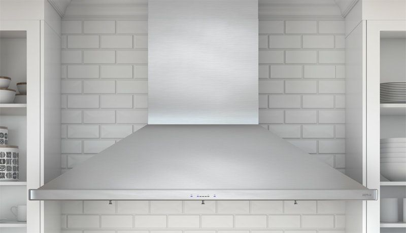 1200 Cfm 48 Inch Wide Siena Pro Wall Mount Range Hood With Baffle Filters And Touch Controls From The Europ Wall Mount Range Hood Range Hood Kitchen Range Hood