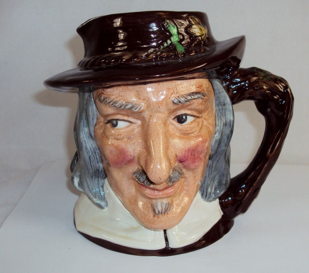 "Toby Character Jug (Large) ~""Izaak Walton"" ~ Royal Doulton D6404 1953 ~ #9120280"