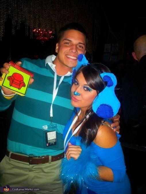Blueu0027s Clues Couple Costume - Halloween Costume Contest via #Halloween Costume| //happyhalloweencostumes.hana.lemoncoin.org  sc 1 st  Pinterest & Blueu0027s Clues Couple Costume - Halloween Costume Contest via ...