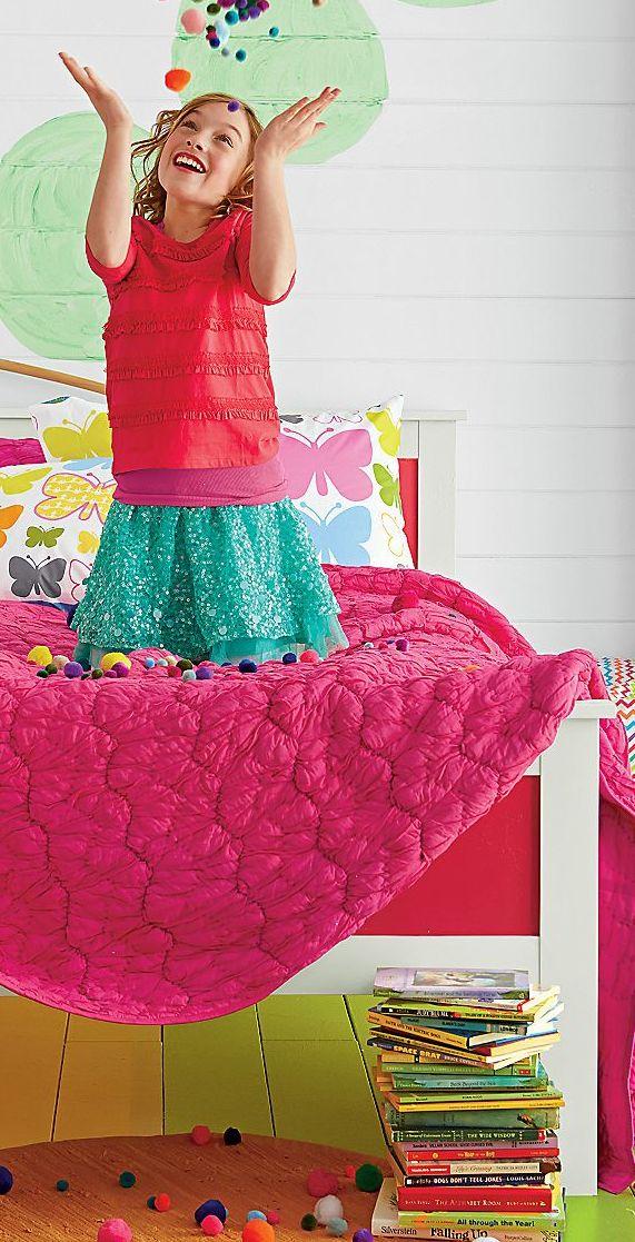 Bubbles Quilt #kids #bedrooms