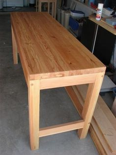 Incroyable Cute And Simple Long Wooden Working Table Designs   Google Search