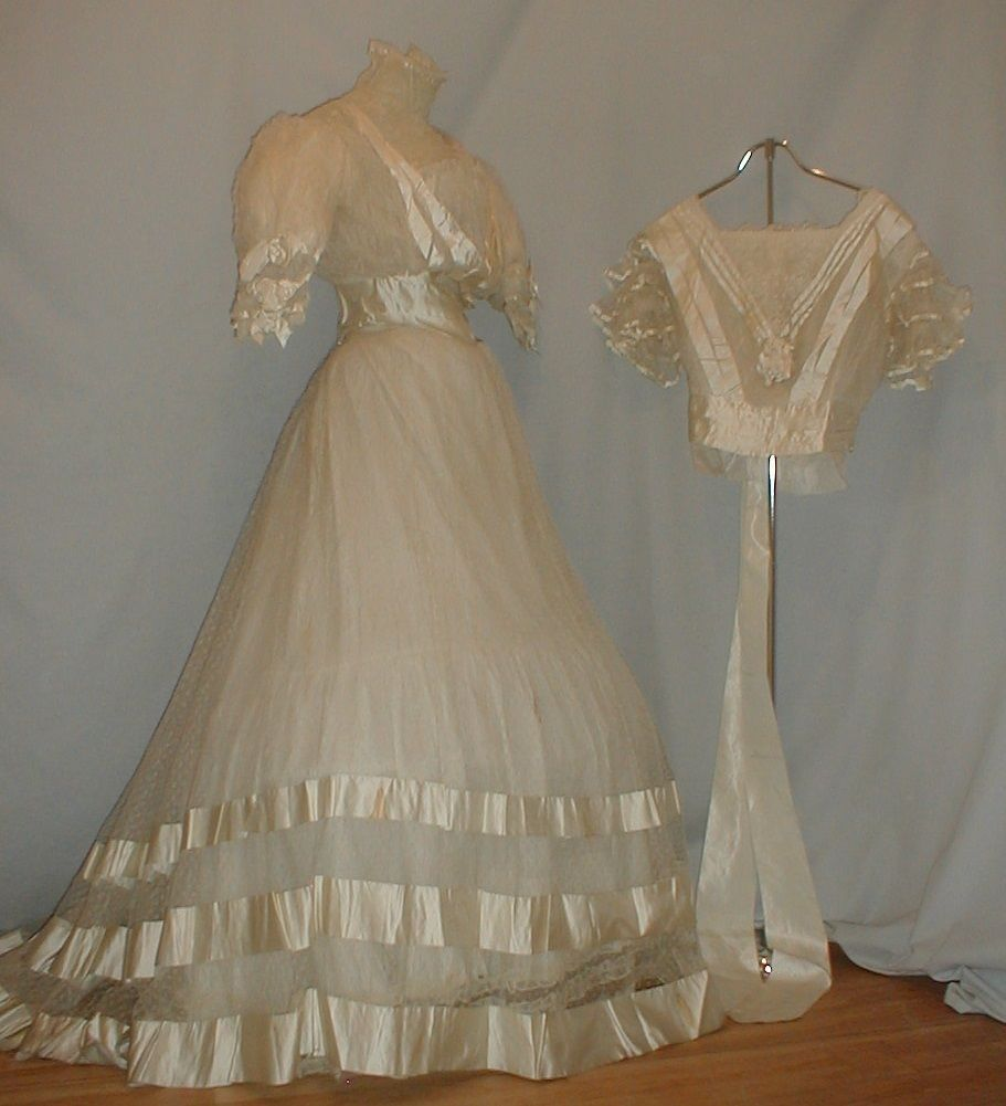 18th century wedding dress  extant garments gowns dresses outfits antique history