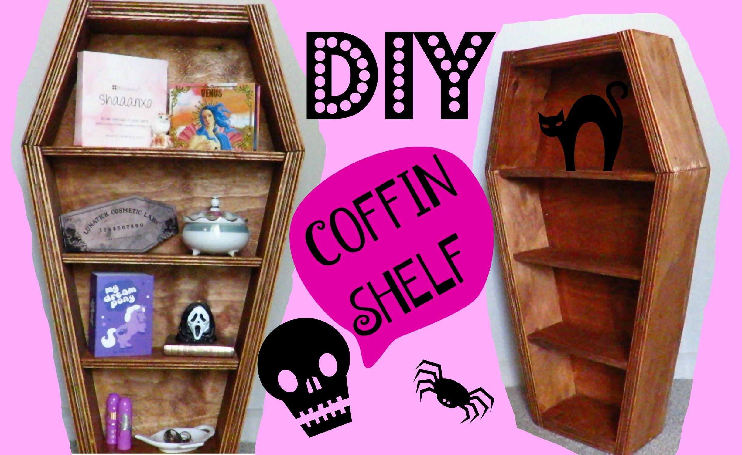 Photo of DIY COFFIN SHELF | JamSaysMeow