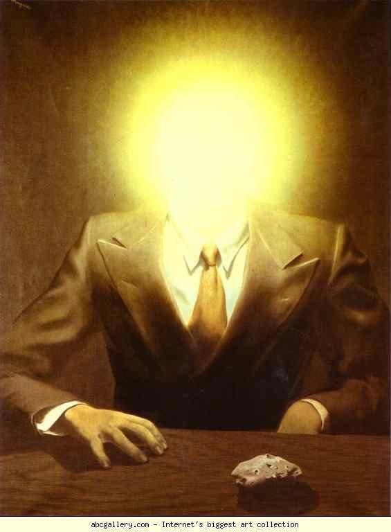 René Magritte. The Pleasure Principle  (Portrait of Edward James).