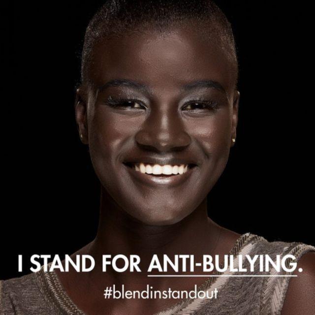 Model Who Was Bullied For Her Dark Skin Stars In Another Make Up For Ever Campaign Dark Skin Models Melanin Skin Dark Skin
