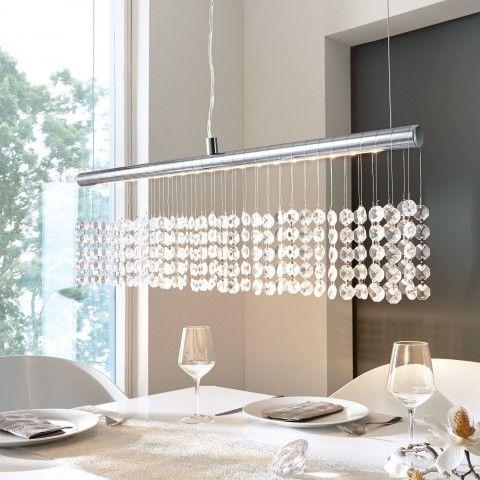 Pendelleuchte Esszimmer Deckenleuchte Kristall Esszimmer Lampen