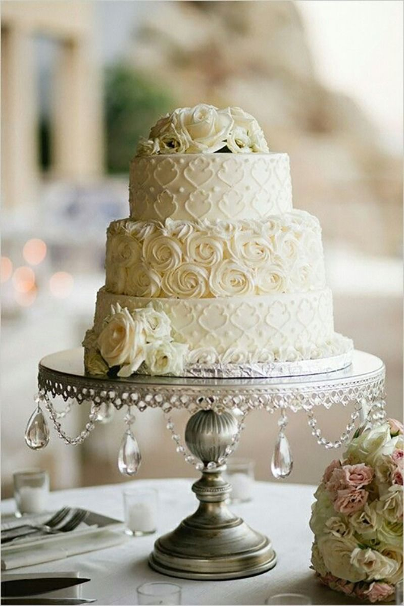 Opulent treasures round wedding cakes wedding cake stands and