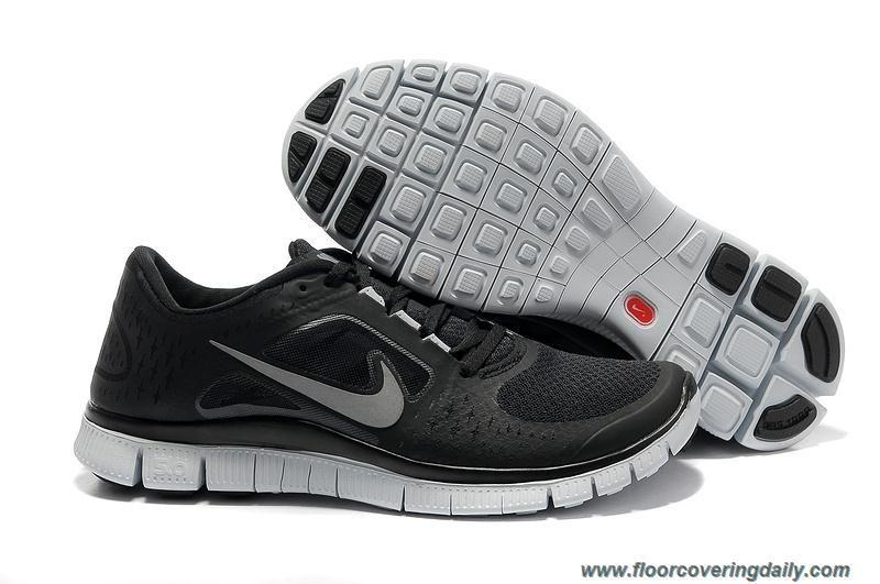 487cc81d4492f New 510642-001 Black Wolf Grey Reflect Silver Nike Free Run 3 Womens ...