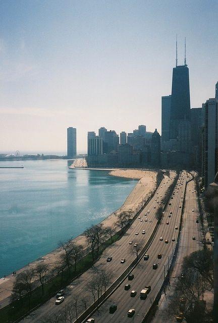 Chicago, along Lake Shore