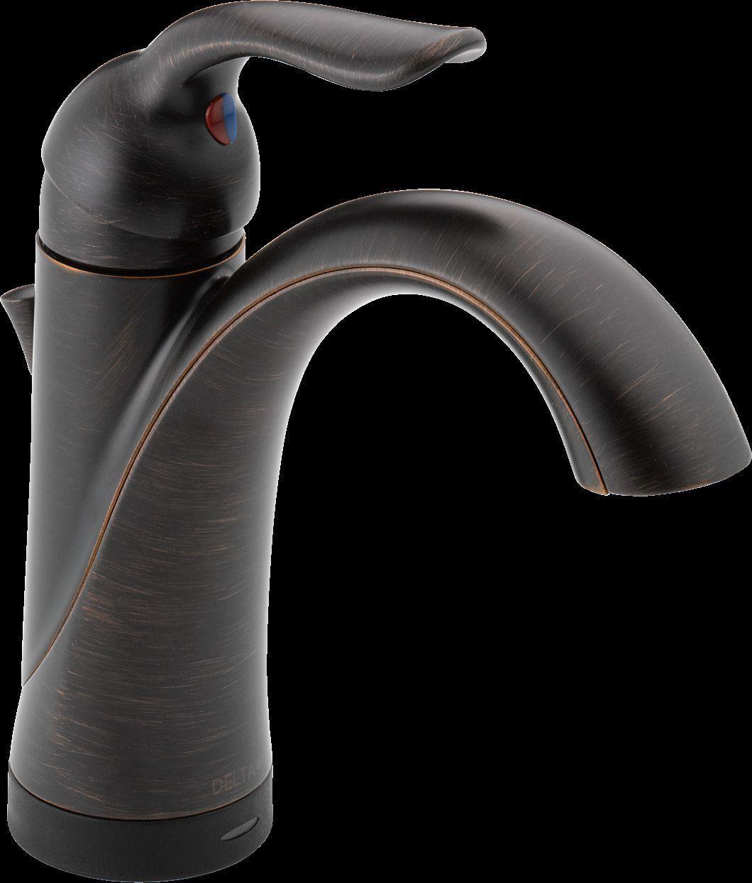 Lahara Single hole Bathroom Faucet with Drain Assembly and Diamond ...