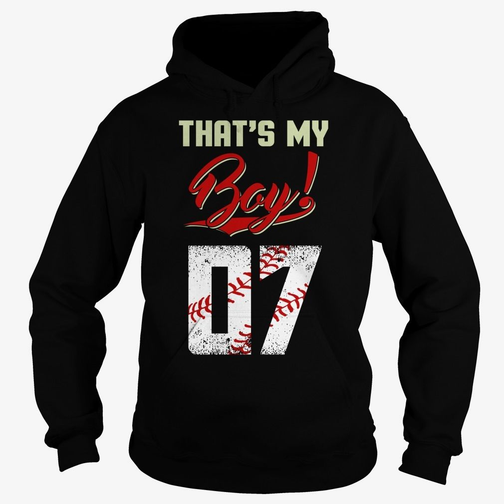That is my baseball boy  07, Order HERE ==> https://www.sunfrog.com/Names/That-is-my-baseball-boy--07-Hoodie-Black.html?6789, Please tag & share with your friends who would love it , #birthdaygifts #christmasgifts #superbowl