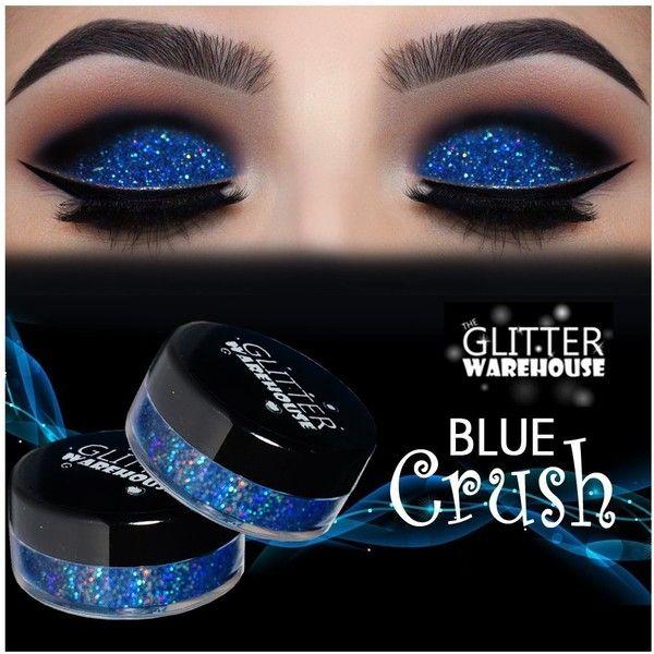 Glitterwarehouse Blue Crush Holographic Loose Glitter Powder For