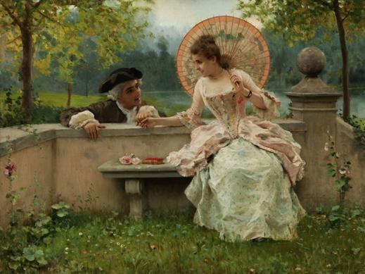 Federico Andreotti (Firenze,1847 – 1930) l'eleganza, il corteggiamento, la vita.  #DayAfterART #Venice #italy