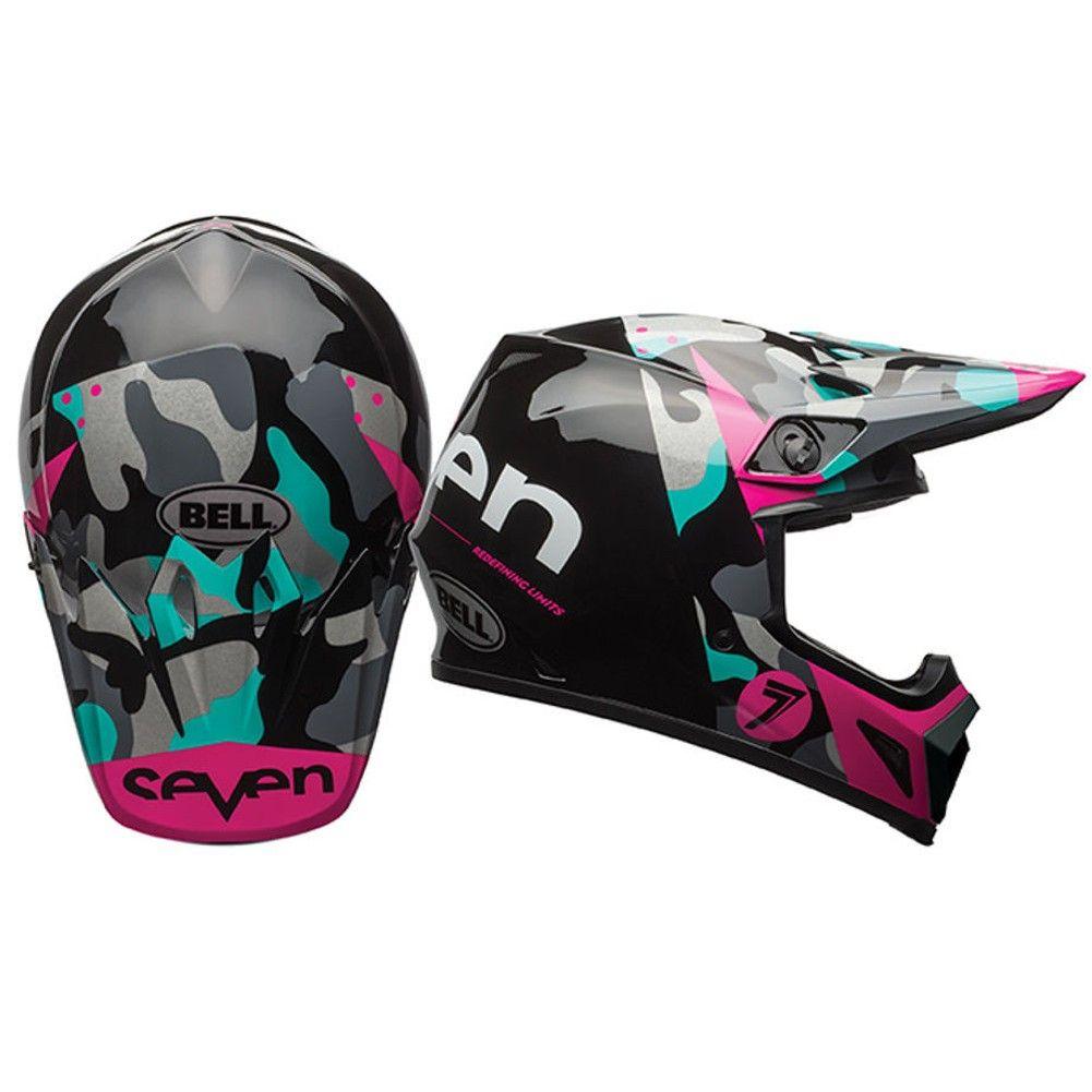 Bell MX9 Seven Soldier w/MIPS Womens Motocross Helmets