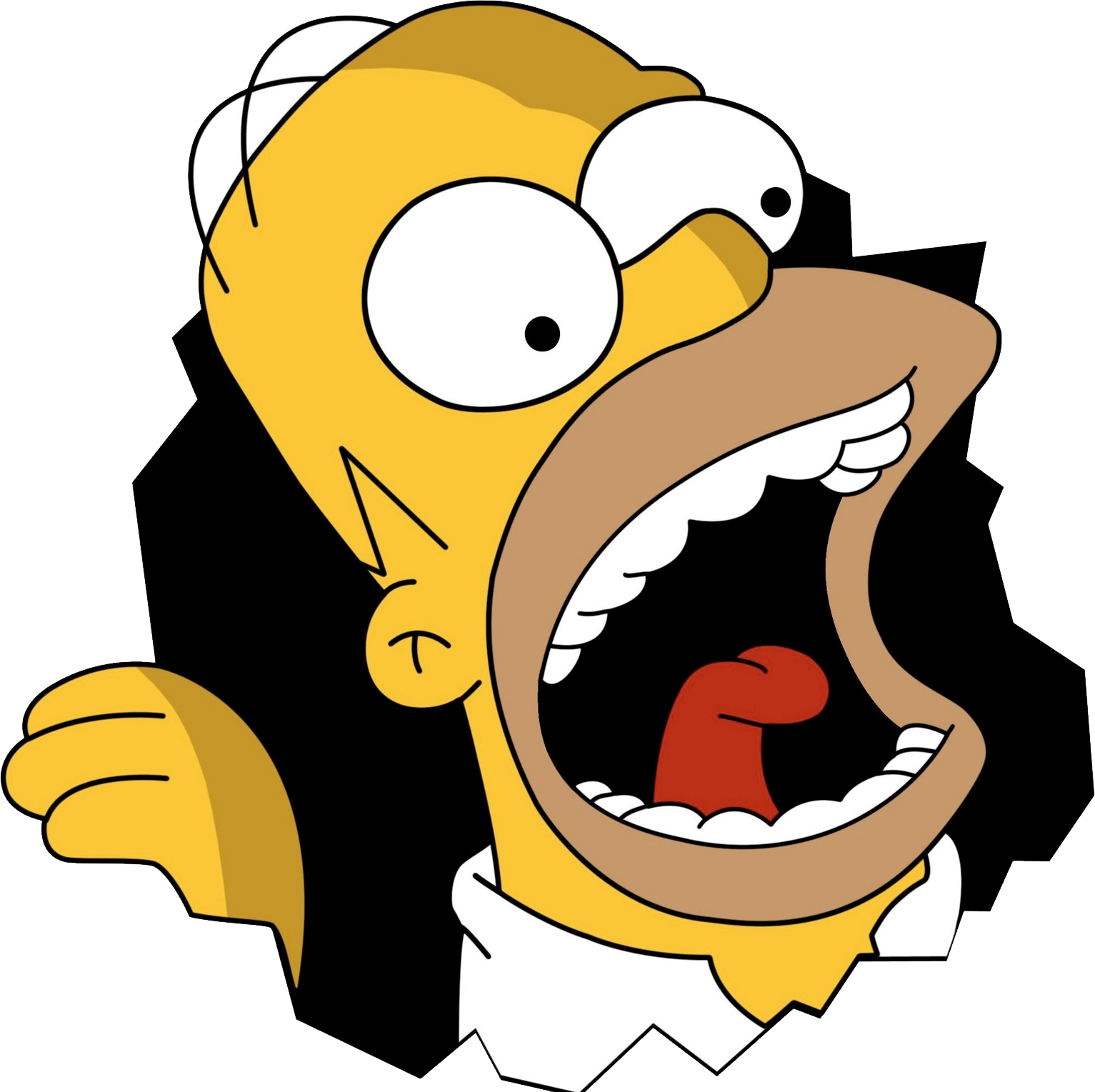Homer Simpson Png Simple Canvas Paintings Homer Simpson The Simpsons Movie