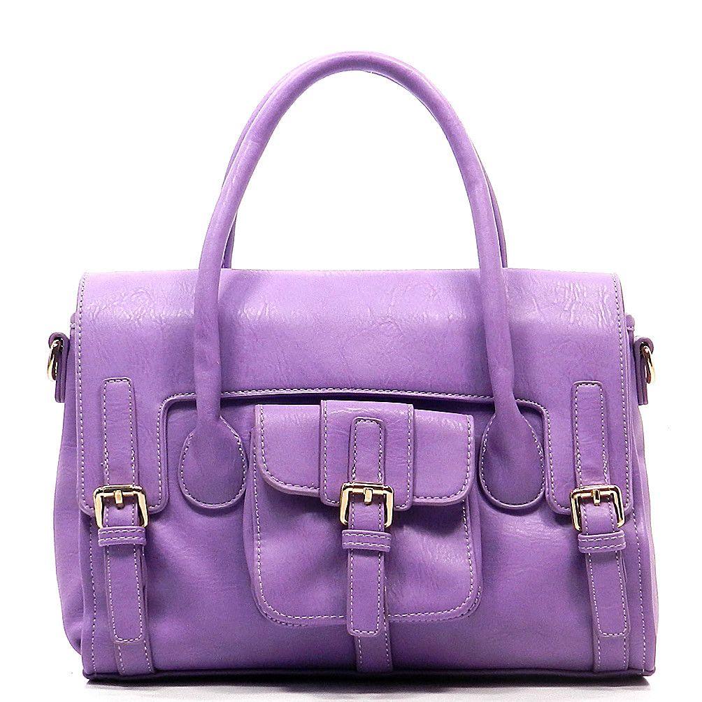 Lena in Lavender- Susan Nichole Vegan handbags