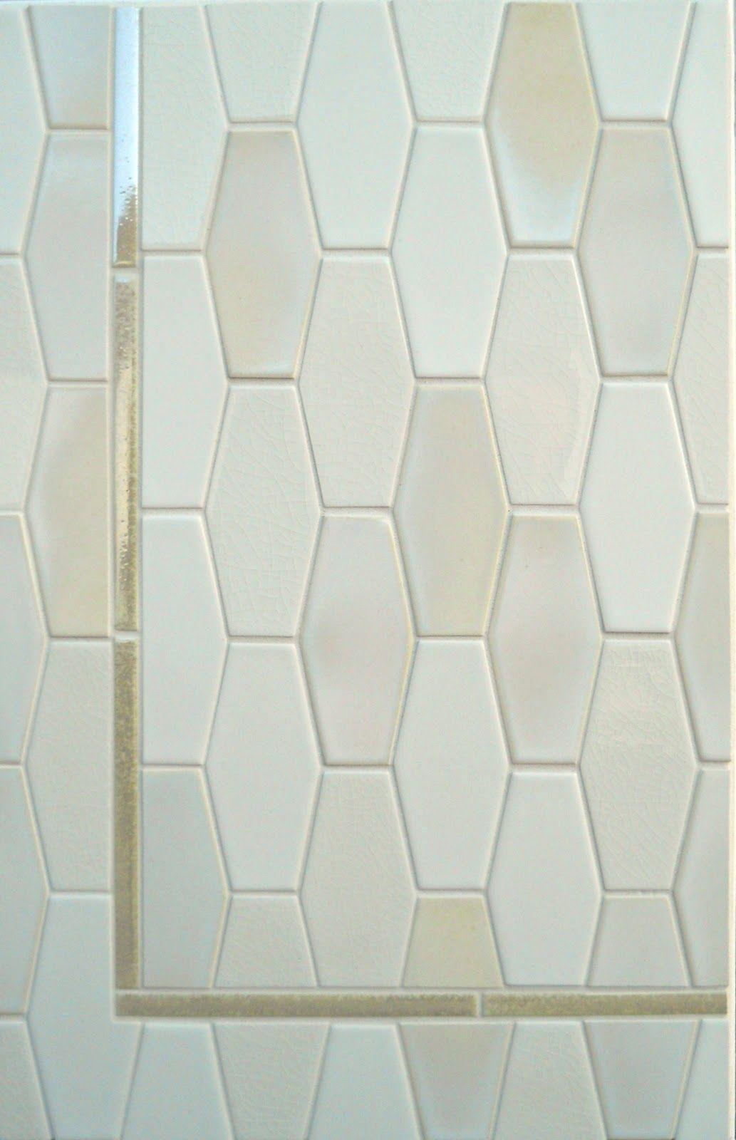Natural Hues 3x6x8 El Hex Daltile Elongated Hexagon Tile White