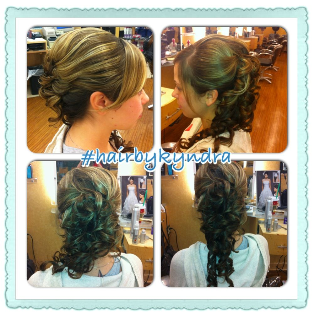 Hairstyle by me #hairbykyndra