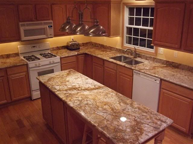 Kitchen With White Appliances   Color
