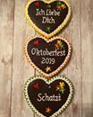 Oktoberfest party time necklace cookies!