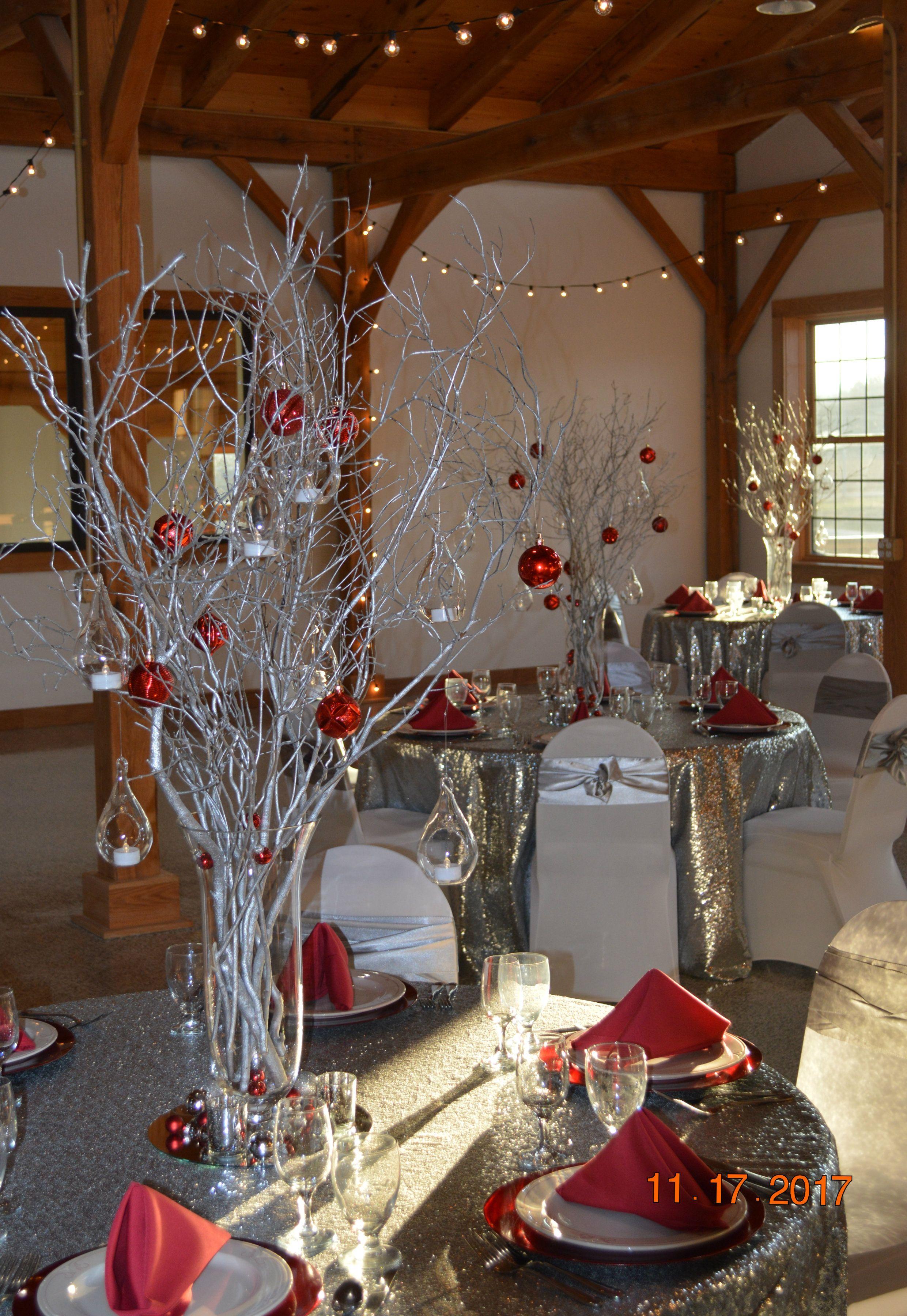 Winter Wonderland Centerpieces   Gatsby wedding ...