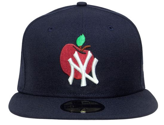 c3bb0cc4bb big apple yankees fitted Yankees Logo