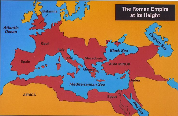 Roman Empire Map At Its Height Roman empire at its height, 117 AD (With images) | Roman empire